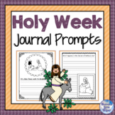 Journal Prompts about Holy Week and Easter {Heaven's Littl