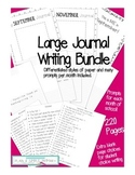 Journal Writing Bundle - Primary Grades