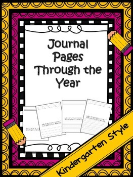 Journal/ Writing Pages