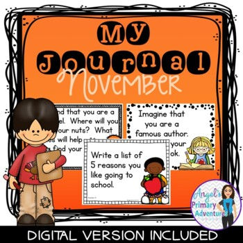 Journal Writing Prompts for November