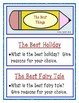 Journal Writing Prompts - Task Cards, Categories & Writing Paper