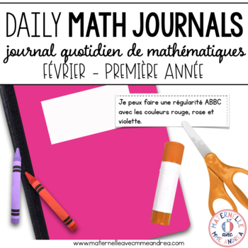 Journal quotidien de maths - février (French Math Journal