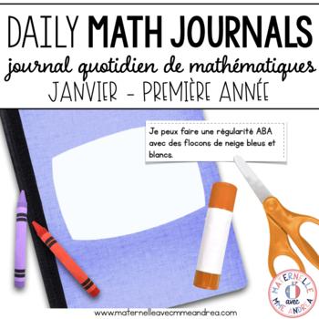 Journal quotidien de maths - janvier (French Math Journal