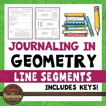 Journaling in Geometry: Line Segments