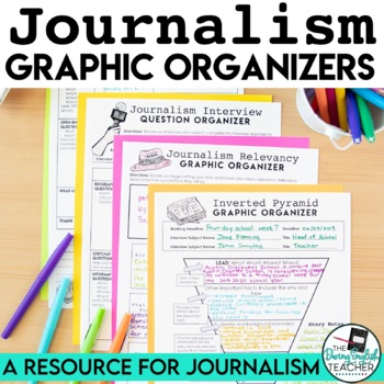 Journalism Graphic Organizers - Inverted Pyramid