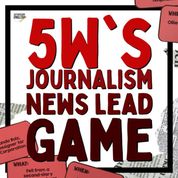 Journalism Leads Game