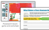 Journalism - Factors of Newsworthiness Lesson Powerpoint &