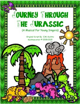 Journey Through The Jurassic: A Musical For Young Singers!