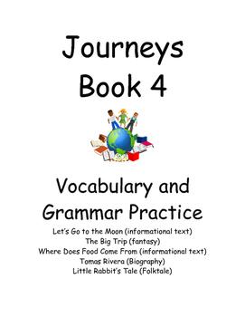 Journey book 4- Vocab and Grammar