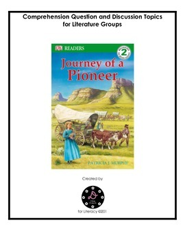 """""""Journey of a Pioneer"""" Comprehension Packet"""