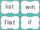Journeys Spelling Word Cards, Second Grade, List 1