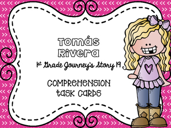Journey's First Grade Lesson 19 Tomás Rivera Comprehension