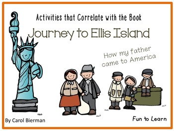 Journey to Ellis Island  by Carol Bierman  42 pgs of Commo