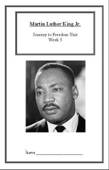 Journey to Freedom:Martin Luther King Jr. (Week 5)Common C