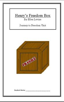 Journey to Freedom:Henry's Freedom Box (Week 3) Common Cor