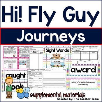Hi! Fly Guy Journeys 1st Grade Supplemental Materials