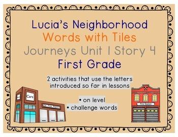 Journeys 1st Grade Reading Unit 1 Lesson 4 Lucia's Neighbo