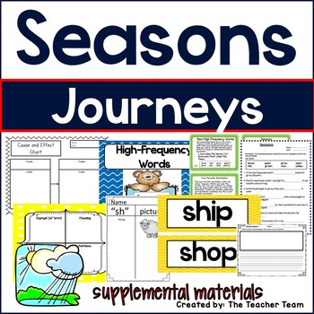 Seasons Journeys 1st Grade Supplemental Materials