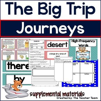 The Big Trip Journeys 1st Grade Supplemental Materials