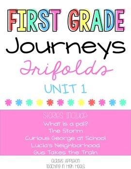 Journeys 1st Grade Unit 1 Trifolds