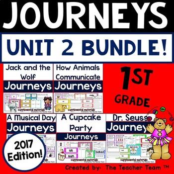 Journeys 2017 1st Grade Unit 2 Supplemental Materials