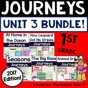 Journeys 2017 1st Grade Unit 3 Supplemental Materials