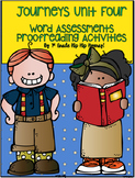 Journeys 1st Grade...Unit 4...Word Assessment and Proofrea