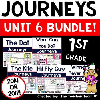 Journeys 1st Grade Unit 6 ~ Supplemental Materials 2014