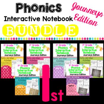 Journeys 2012 and 2014 1st Grade Phonics Skill Interactive