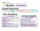 Journeys 2014 First Grade Oral and Selection Vocabulary Unit 4