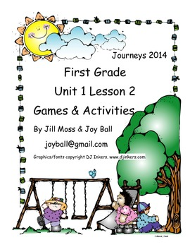 Journeys 2014 First Grade Unit 1 Lesson 2: The Storm