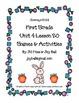 Journeys 2014 First Grade Unit 4 Bundle