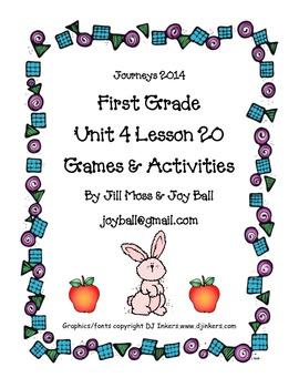 Journeys 2014 First Grade Unit 4 Lesson 20: Little Rabbit's Tale