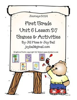 Journeys 2014 First Grade Unit 6 Lesson 27: What Can You Do?