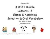 Journeys 2014 Kindergarten Unit 1 Bundle