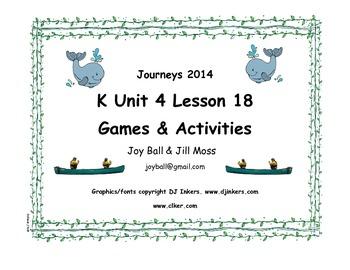 Journeys 2014 Kindergarten Unit 4 Lesson 18: Atlantic