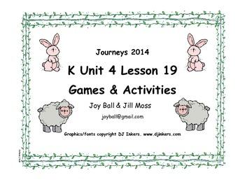 Journeys 2014 Kindergarten Unit 4 Lesson 19: Sheep Take a Hike
