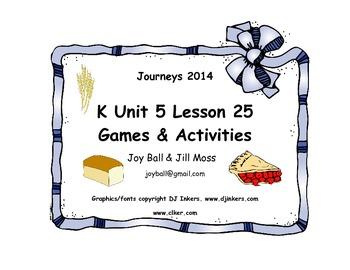 Journeys 2014 Kindergarten Unit 5 Lesson 25: Pie in the Sky