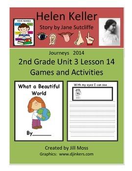 Journeys 2014 Second Grade Unit 3 Lesson 14 Activities: He