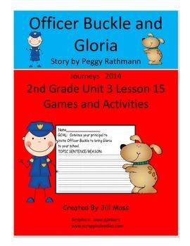 Journeys 2014 Second Grade Unit 3 Lesson 15: Officer Buckl