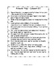 Journeys 2014 Third Grade, Unit 5, Study Guide Comprehensi