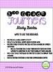 Journeys 2014 Third Grade, Unit 6, Study Guide Comprehensi