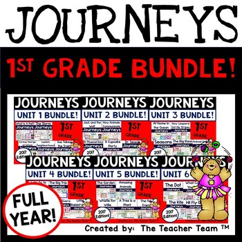 Journeys 2017 1st Grade Units 1-6 Supplemental Materials F