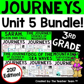 Journeys 2017 3rd Grade Unit 5 Supplemental Materials