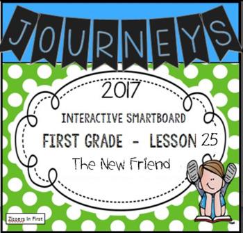 Journeys 2017 Lesson 25 First Grade Interactive Smartboard Slides