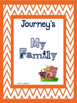 Journey's 2nd Grade My Family Supplements