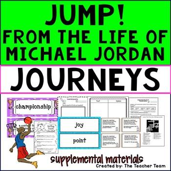 Jump From the Life of Michael Jordan Journeys 3rd Grade Su