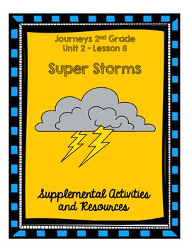 Journeys 2nd Grade Super Storms