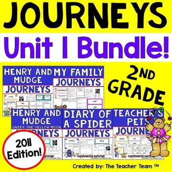 Journeys 2nd Grade Unit 1 Supplemental Materials 2011