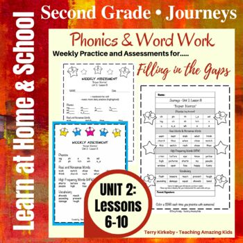 Journeys - 2nd Grade/Unit 2 - Precise Word Work/Assessment